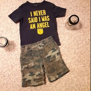 Boy's size 4t. The children's place tee & Carter's